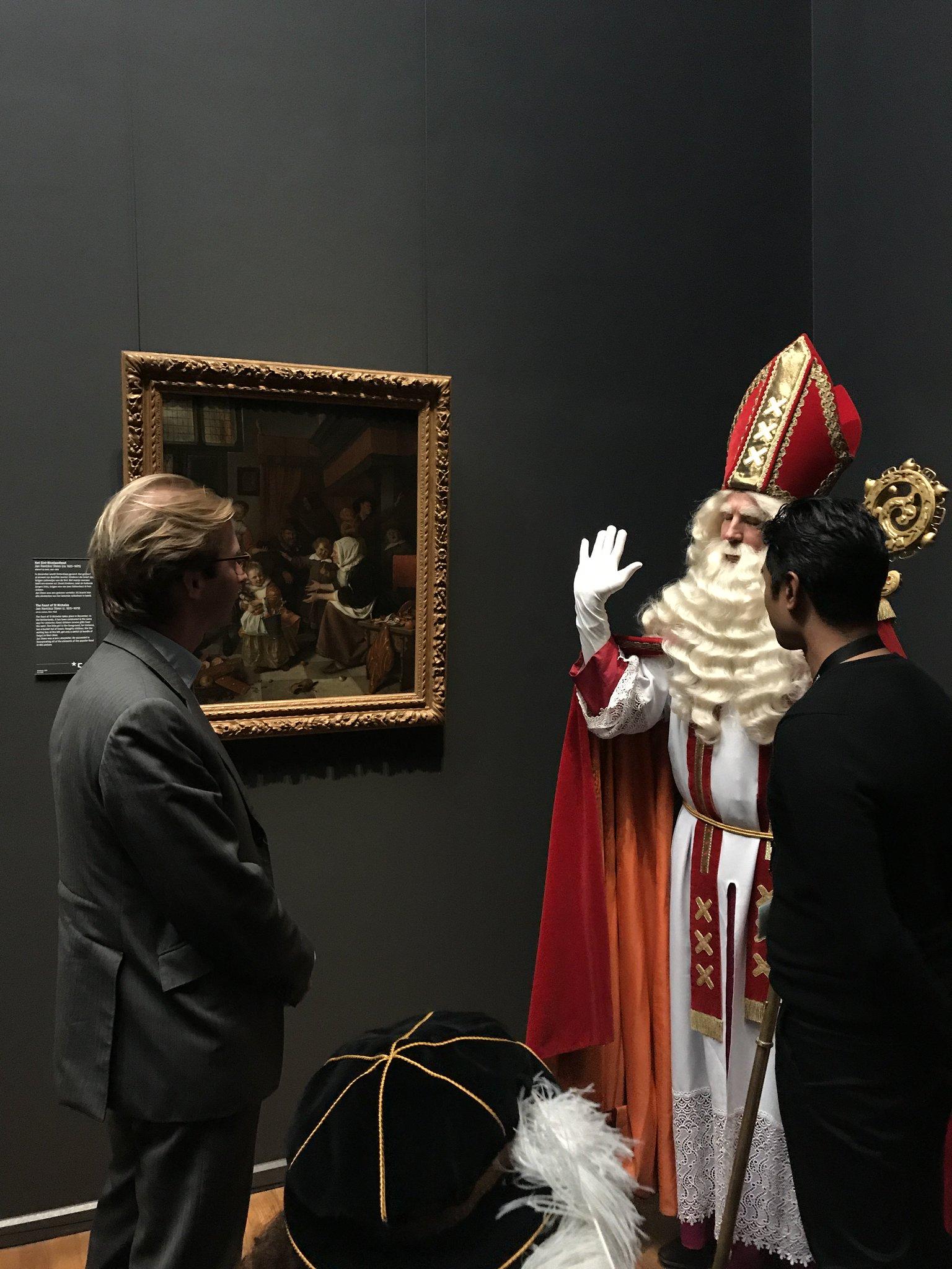 Sint Nicolaasfeest Rijksmuseum.Rijksmuseum On Twitter Vandaag Was De Sint Bij Ons Te Gast