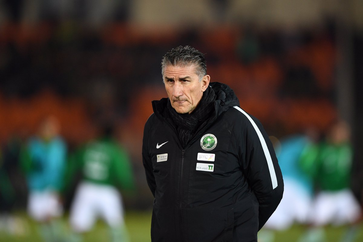 OFFICIAL: 🇸🇦 @saudiFF sack Edgardo Bauza...