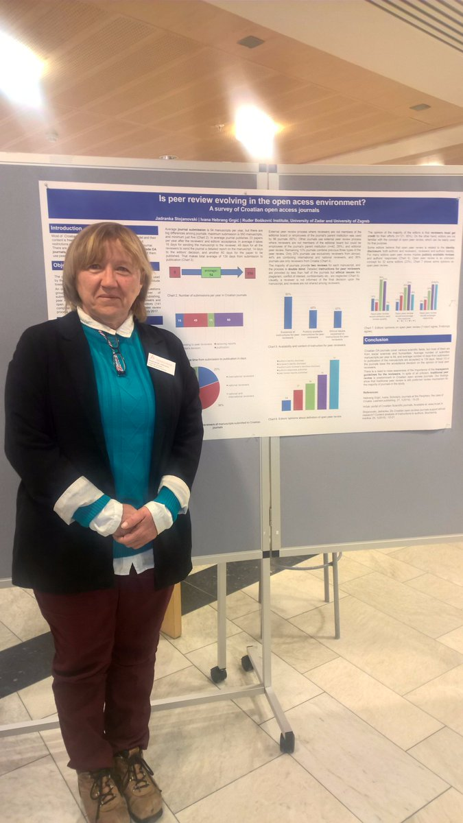 Is peer review evolving in the OA environment? A study done by Ivana Hebrang Grgić and @jadr4nka presented at #12mc2017 #openaccess <br>http://pic.twitter.com/DE2Y1qoJpC