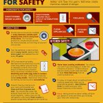 "Follow this ""Recipe for Kitchen Safety"" from @ESFIdotorg and help this year's festivities create memories instead of danger."