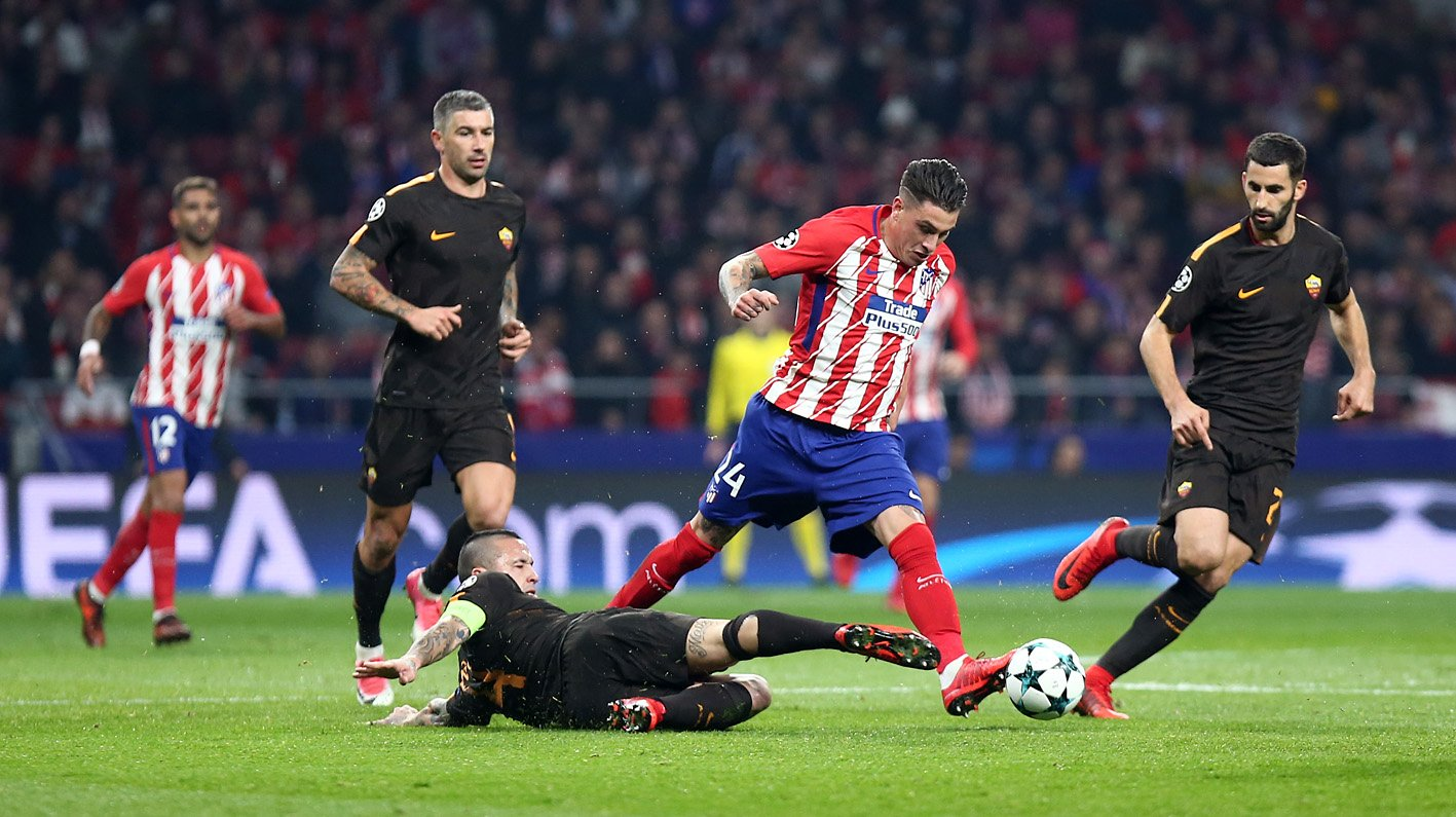 Atletico Madrid 2-0 AS Roma Highlights