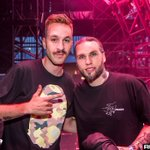 #djfaceswaps @nickyromero x birthday boy @SteveAngello