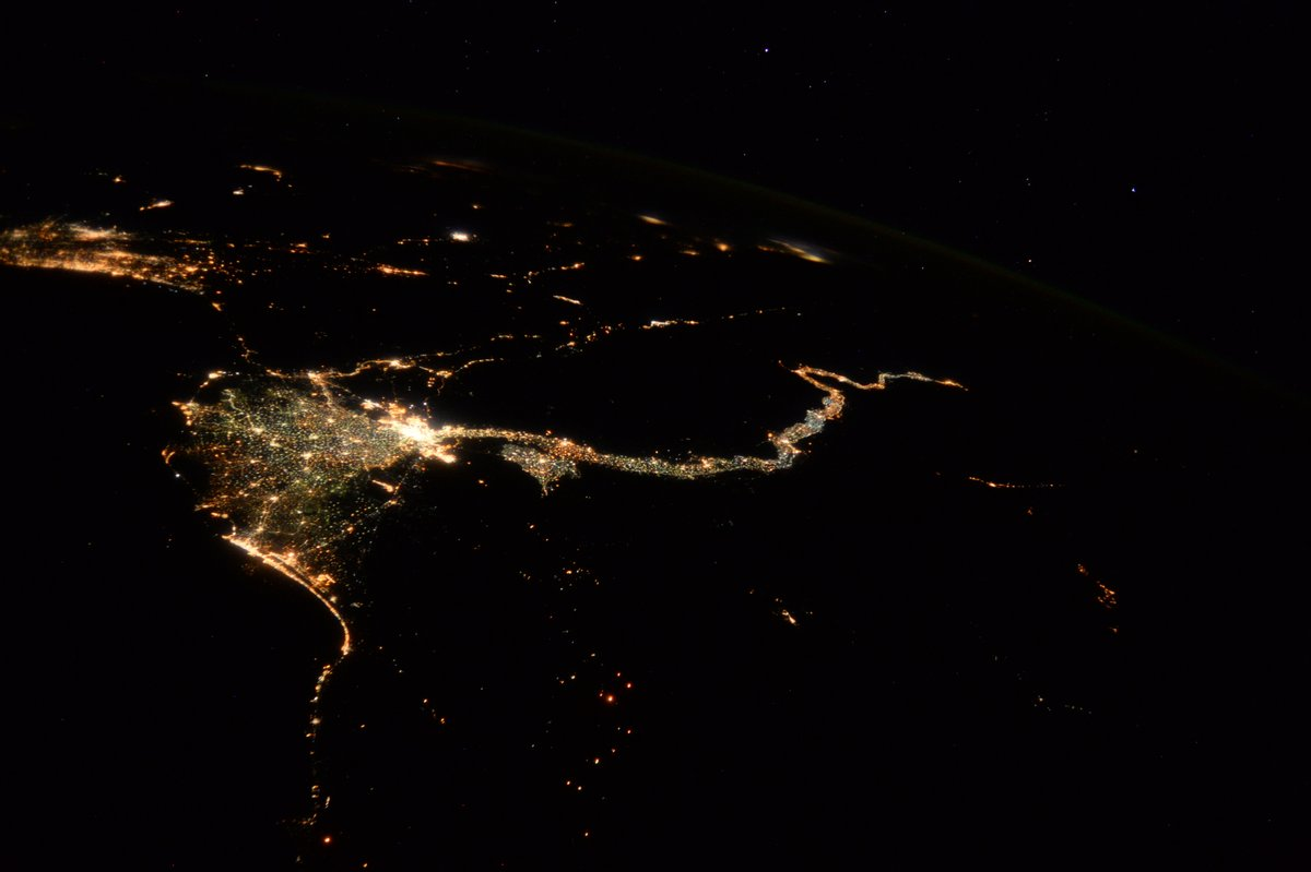 Amazing maps on twitter light pollution map of africa and the north korea at night no problem with light pollution international space station iss photos of the nileriver 2 and washingtondcpicitter gumiabroncs Choice Image
