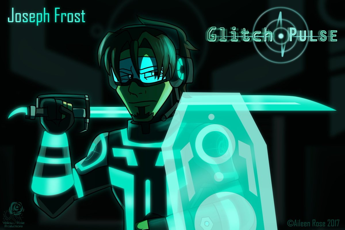 Coming to Tapas and Webtoon December 2017 for all to read.  It's time to go digital!  #glitchpulse #cyberpunk #cyberspace #josephfrost #digitalart