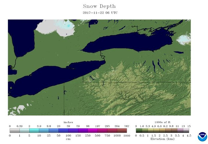 Snow cover in #rochester &amp; the #fingerlakes today versus one year ago...<br>http://pic.twitter.com/VuuQSWzcJo