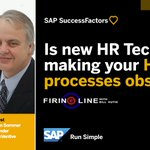 Is new #HRTech making your HR processes obsolete? Find out on the new Firing Line with @BillKutik: https://t.co/EEGt72AYsf