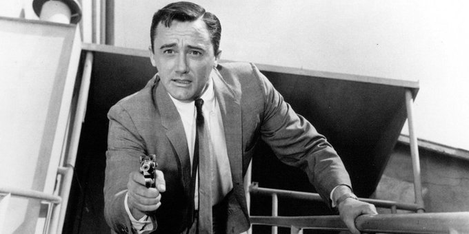 """Happy Birthday Robert Vaughn! See him in \""""The Woman Hunter\"""" (1972) on our app!"""