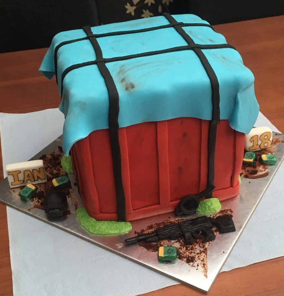 Dapubg On Twitter Cute Birthday Cake Pubg