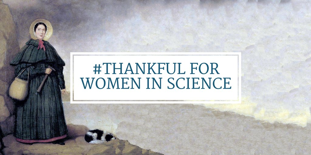 We are so #thankful for the women in science who are paving a way for the next generation and who are such inspirations to everyone in the field. #womeninscience #womeninpaleo #wcw  Tag a women in science who you're thankful for!