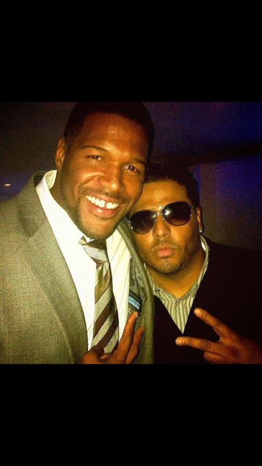 Michael Strahan here with Al B Sure  Michael Strahan!! Happy Birthday   46 Gen X