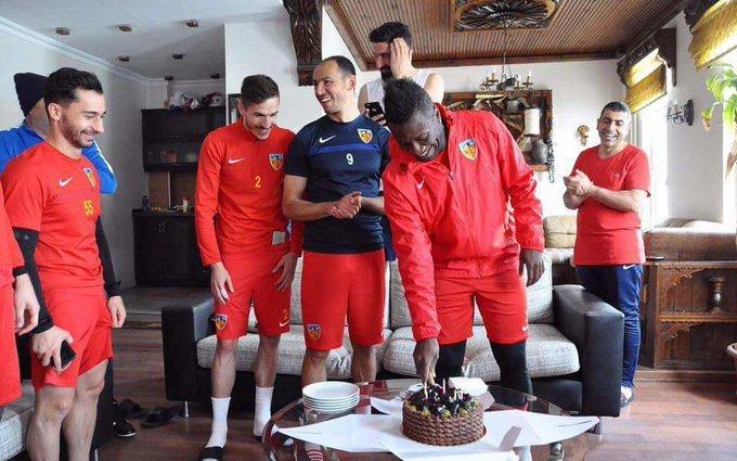 FIFA wishes Ghana captain Asamoah Gyan happy 32nd birthday