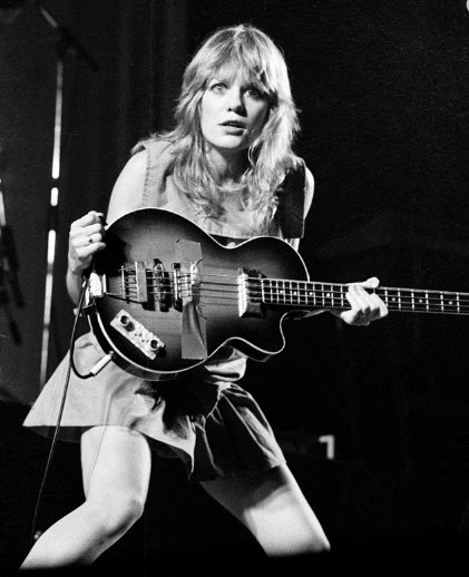 HAPPY BIRTHDAY Tina Weymouth (Talking Heads) is 67 today