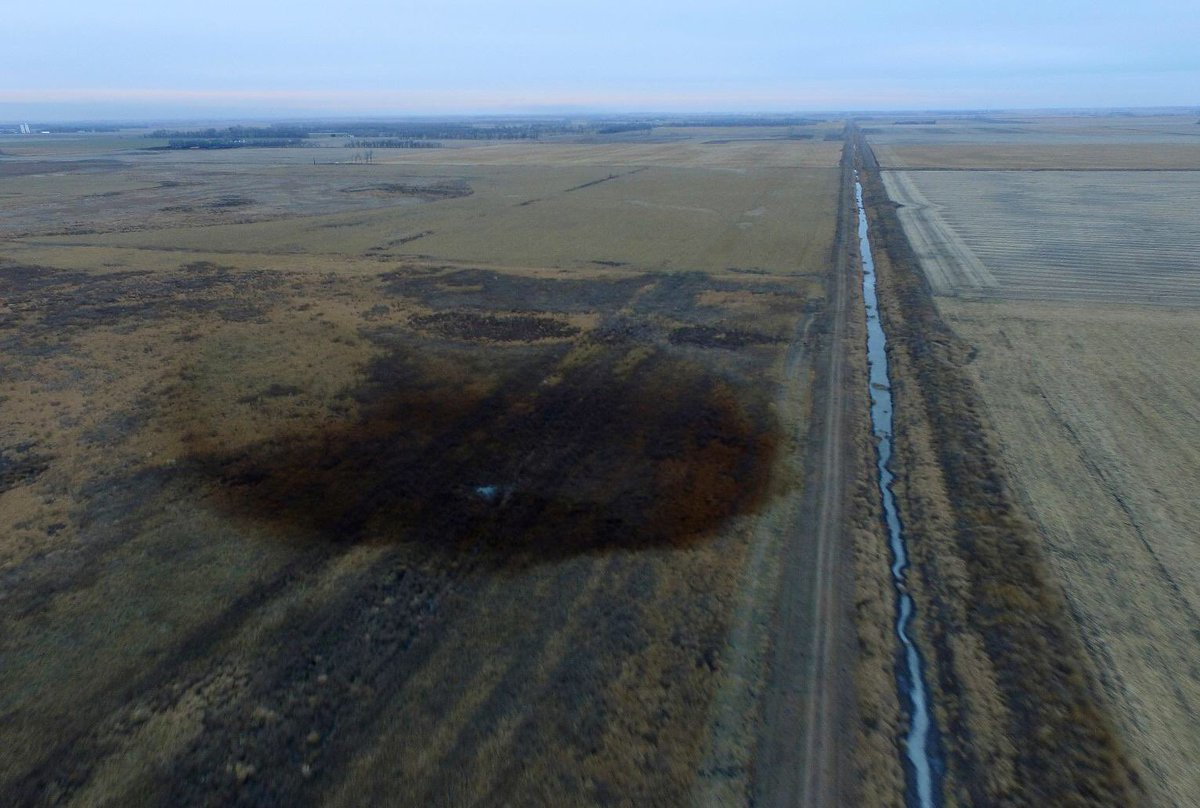 Transcanada promised my people that the Keystone 1 pipeline would not leak. They lie.