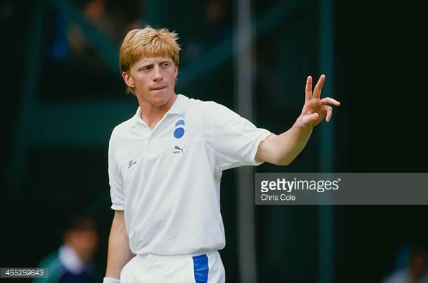Happy 50th birthday to 3 time Wimbledon champ, Boris Becker....
