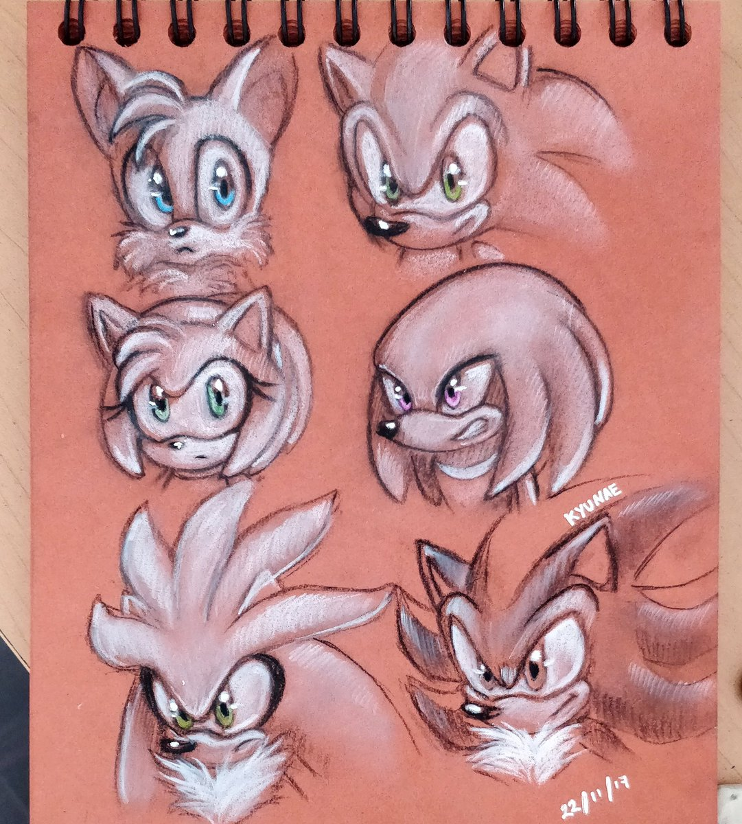Sonic, Tails, Amy, Knuckles, Silver &amp; Shadow charcoal doodles.  #charcoal #doodle #sketch #sketchbook #hedgehog #echidna #fanart #sonicfanart #characterart #blackandwhite #pencil #paper #traditionalart #traditional #sega #art #sketchbook #game #gaming #gameart #gamingart<br>http://pic.twitter.com/6ZSstbNClT