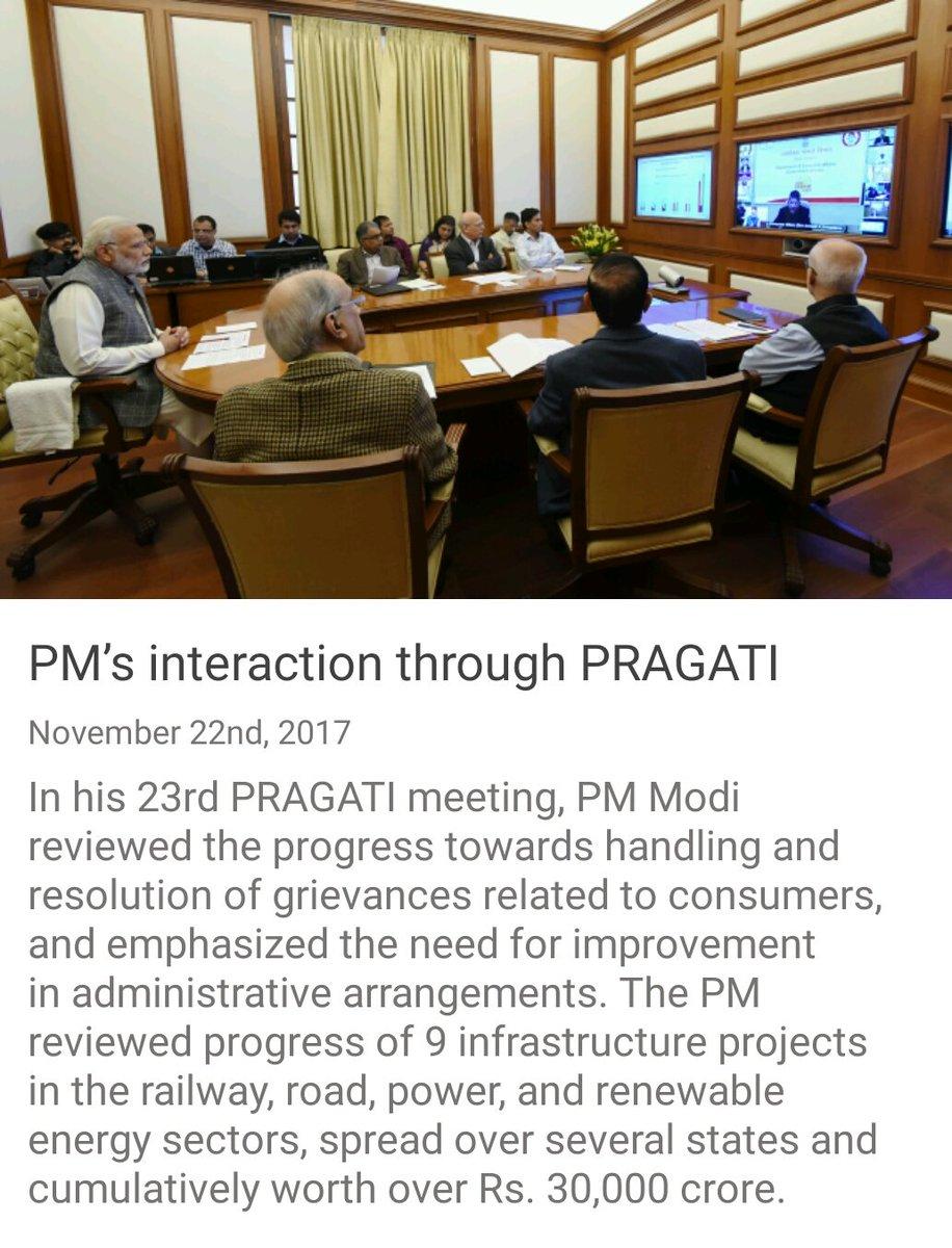 PM @narendramodi 's interaction through...