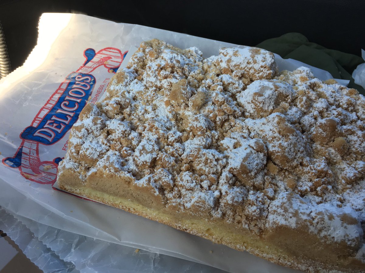 Pete Genovese On Twitter The Legendary Crumb Cake At BW Bakery