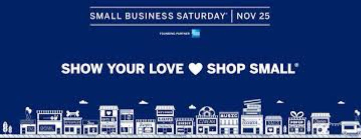 Small Business Saturday is this Saturday...