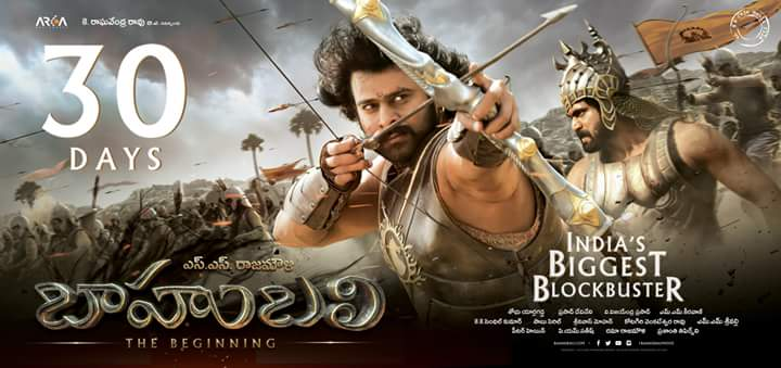 @BaahubaliMovie 30 days posters HD  Rebe...