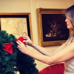 Preparations are underway to celebrate the holidays at the @WhiteHouse!