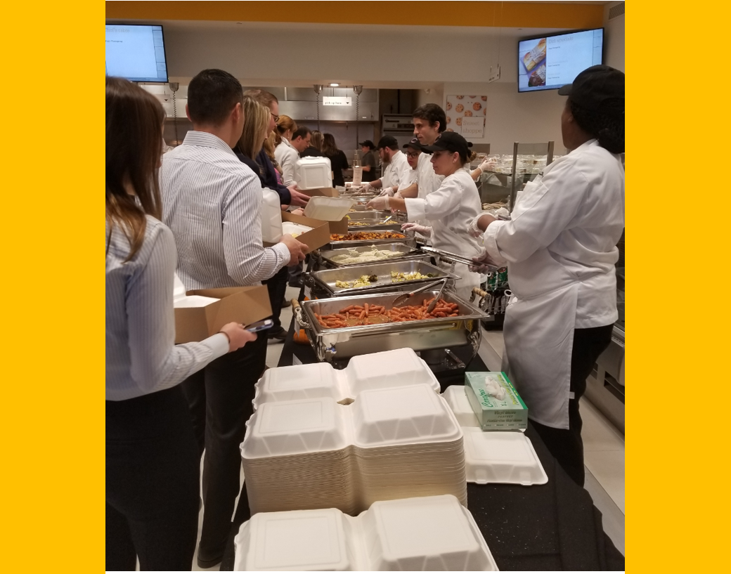 Pre-Thanksgiving lunch with the foot &amp; ankle team on the Mahwah campus #Stryker #FootAnkle<br>http://pic.twitter.com/ZksGbanjbG