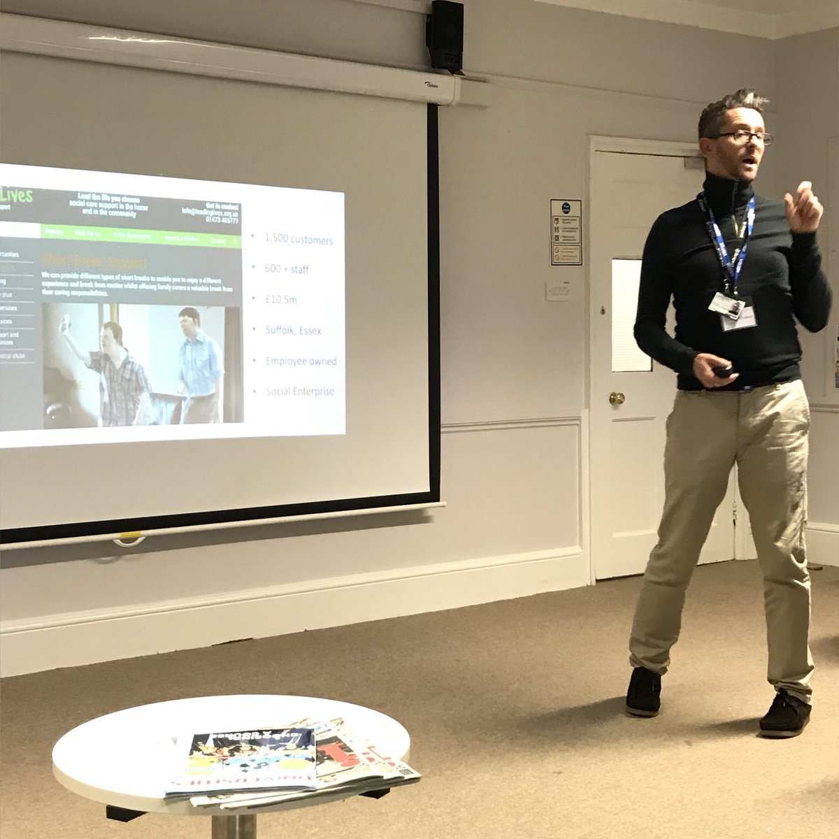 Thank you to Boo Dendy for a fabulous employer-led careers talk we truly enjoyed having you here @IpswichHigh @IHS6thForm from @LeadingLives #informed #inspired #students<br>http://pic.twitter.com/Ulozia4yT1