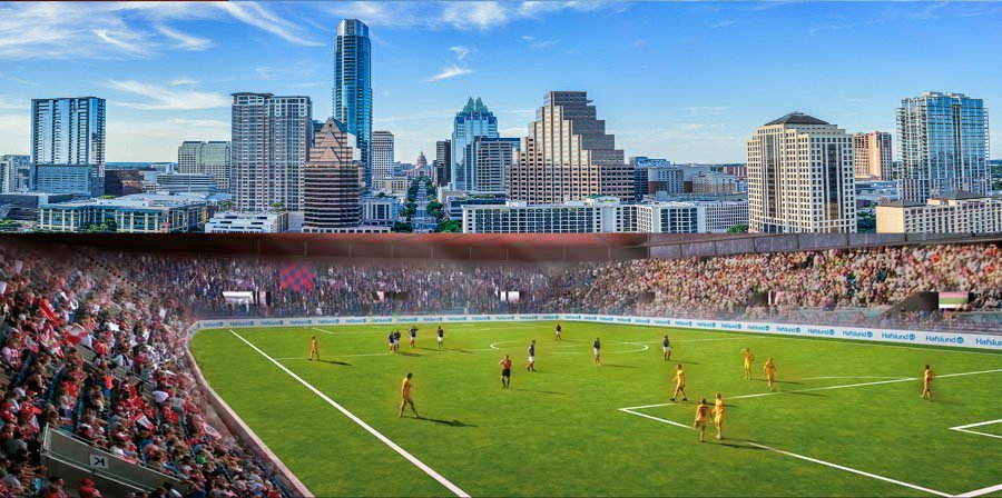 The new #MLS stadium in Austin will be able to host high school football games, concerts, and could also be used as a venue for SXSW and ACL #MLS2ATX #AUSTIN <br>http://pic.twitter.com/pByOw3oUh3