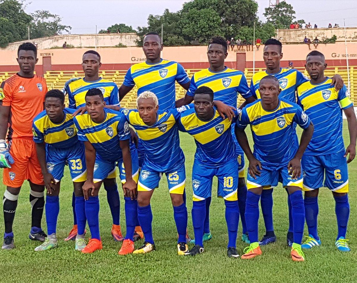 Le onze entrant du Satellite FC pour le match de la 4e journée contre le Hafia FC