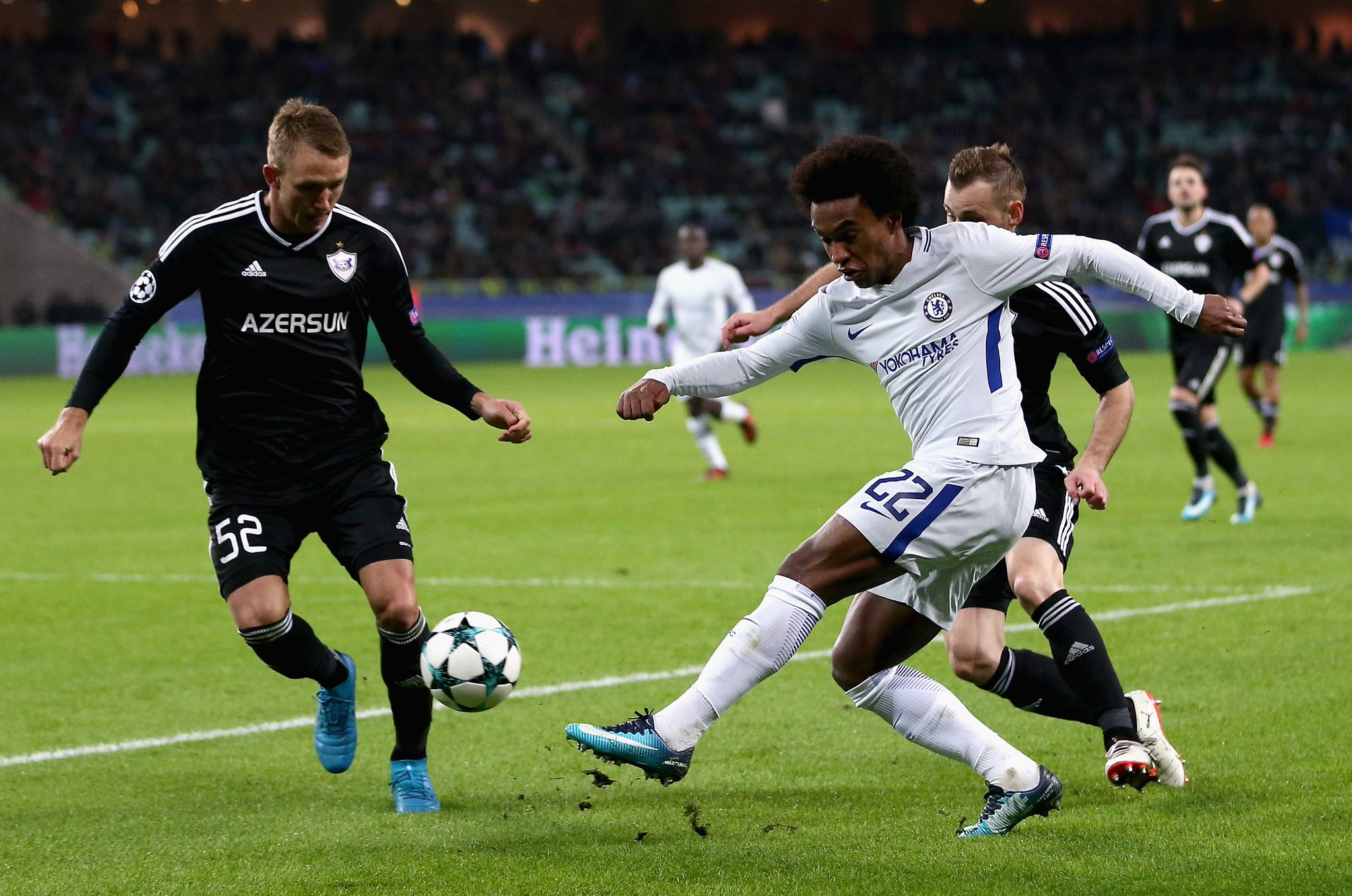 Qarabag 0-4 Chelsea Highlights