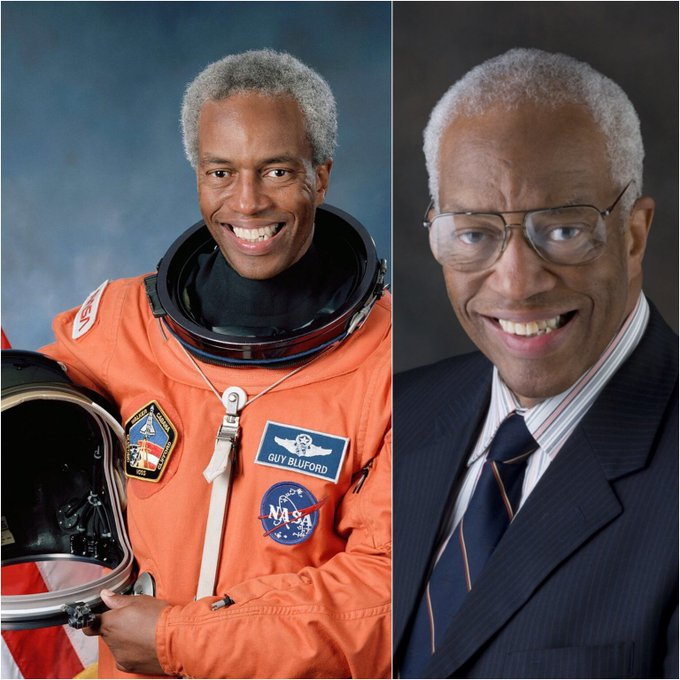 Happy 75th birthday to the first African American to travel into space, Guion Bluford!