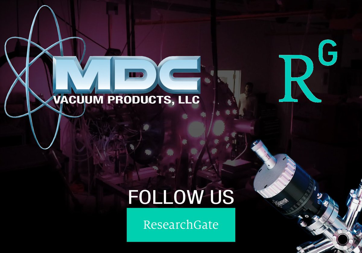 Follow us on ResearchGate  https://www. researchgate.net/institution/MD C_Vacuum_Products &nbsp; …  #MDCVacuum #ResearchGate #f17mrs #research #collaboration #science #technology #vacuum #vacuumscience #physics #materialsscience #MassSpec #spectroscopy #synchrotron #beamline #labs #scientists #physicists #researchers #vacuumtech<br>http://pic.twitter.com/WwfZLhWuvY