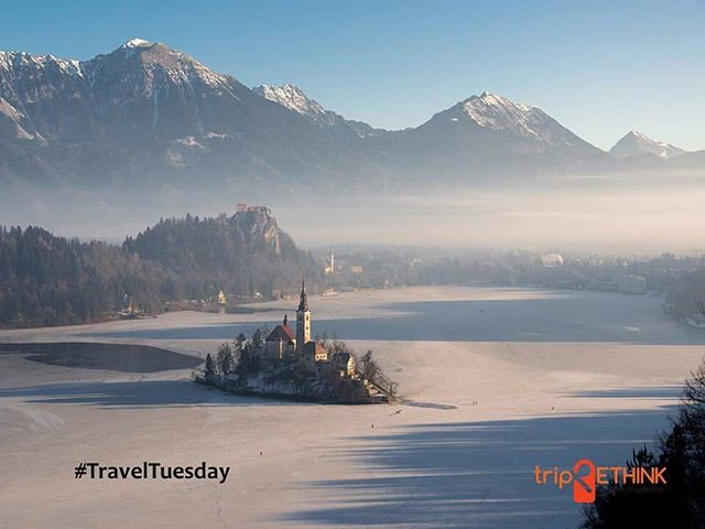 Reposting @triprethink: #lakebled #solvenia This Alpine lake with the only island in Slovenia has been a world-renowned paradise for<br>http://pic.twitter.com/QQ7mDWtvPu