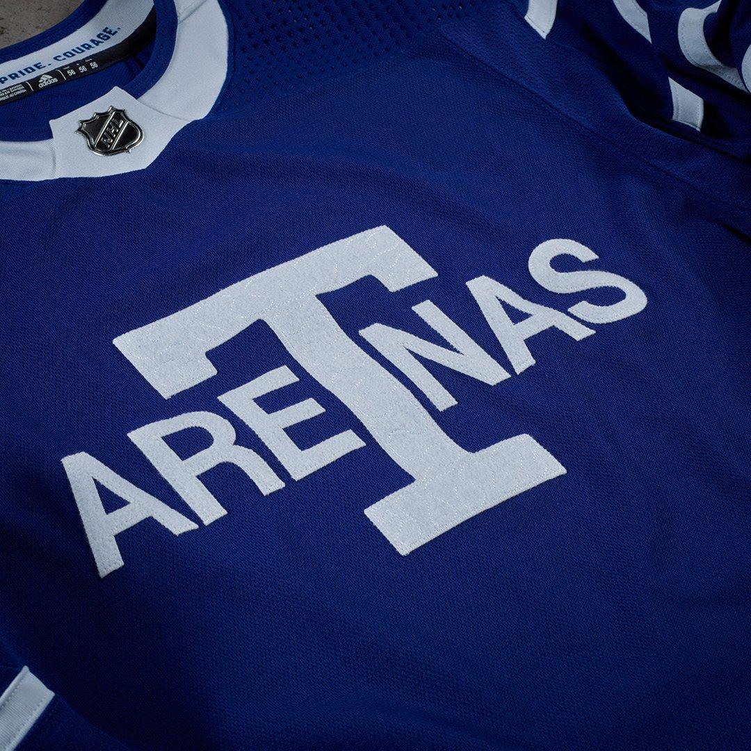 new product eedb8 a61de Toronto Maple Leafs on Twitter: