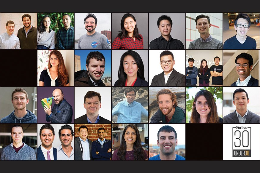 RT @MIT: Congrats to the many MIT community members named to @Forbes' #30Under30 for 2018! https://t.co/TQQPTwO9Fa https://t.co/bVdTP7cT1k