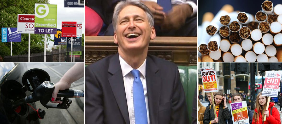 13 things in the Budget small print that Philip Hammond won't want you to read https://t.co/LO9Ww2mya0 #Budget2017 https://t.co/QPjWzNyA58