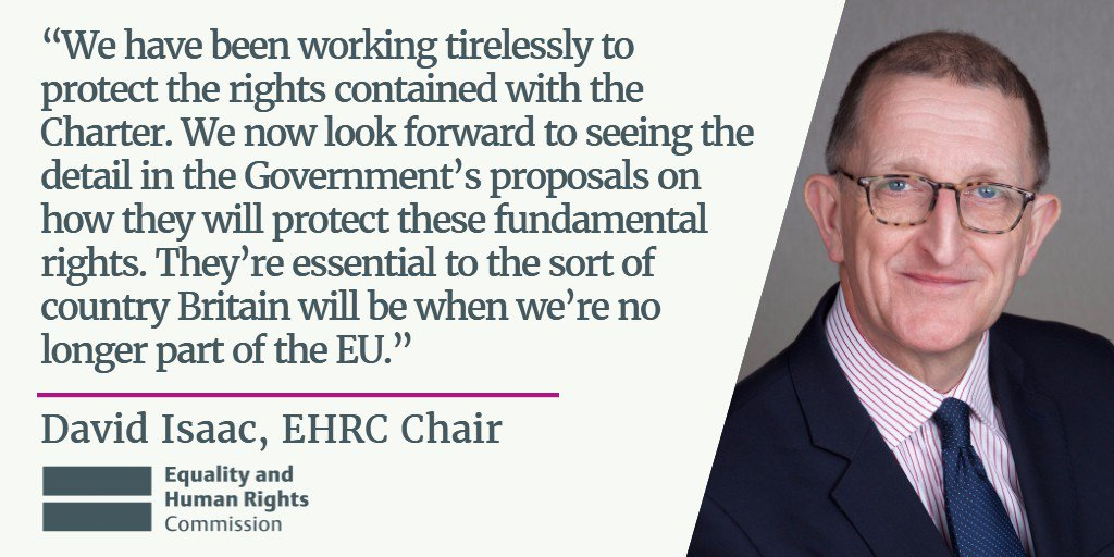 Here's what @EHRCChair has to say on #EU...