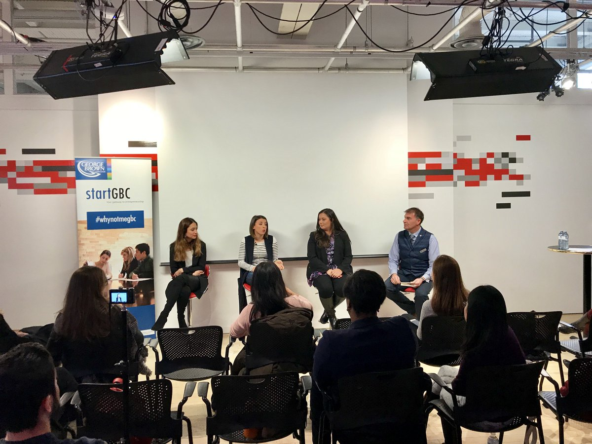 Gbc International On Twitter Our Team Recently Hopped Over To The Youtube Space At The George Brown College School Of Design For Global Entrepreneurship Week To Watch A Women S Entrepreneurship Discussion Panel