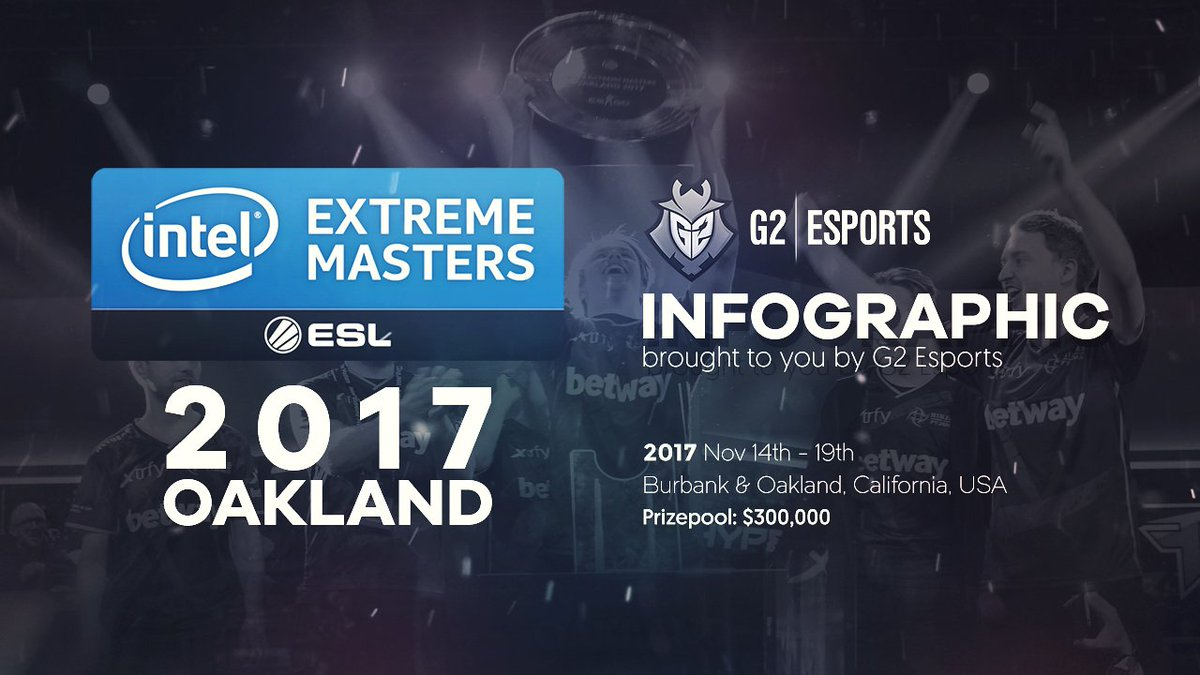 RT @G2esports: Take a look back at all the stats from #IEMOakland   📊 INFOGRAPHIC » https://t.co/LQUh6AvOMu https://t.co/BJG5JqfQl7