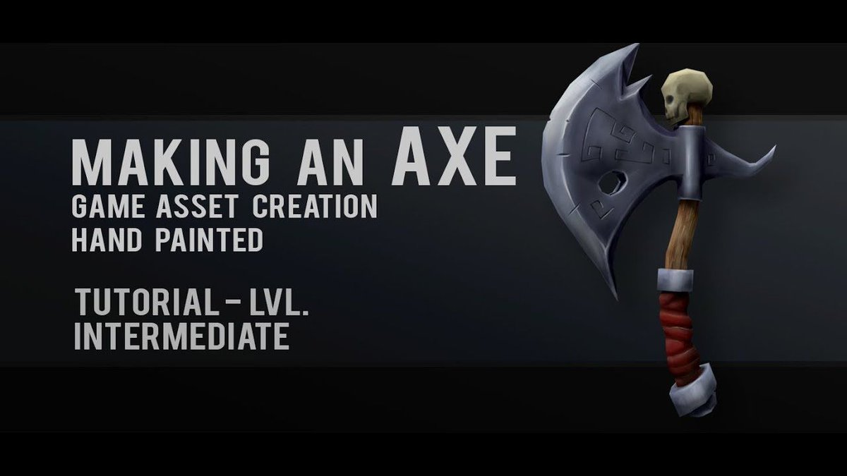 This is a really cool #tutorial by @grantabbitt on his #lowpoly #blender3d #3dmodeling and #texturepainting game axe project!  http:// bit.ly/2zrhxf4  &nbsp;  <br>http://pic.twitter.com/l1hRTEjMA3