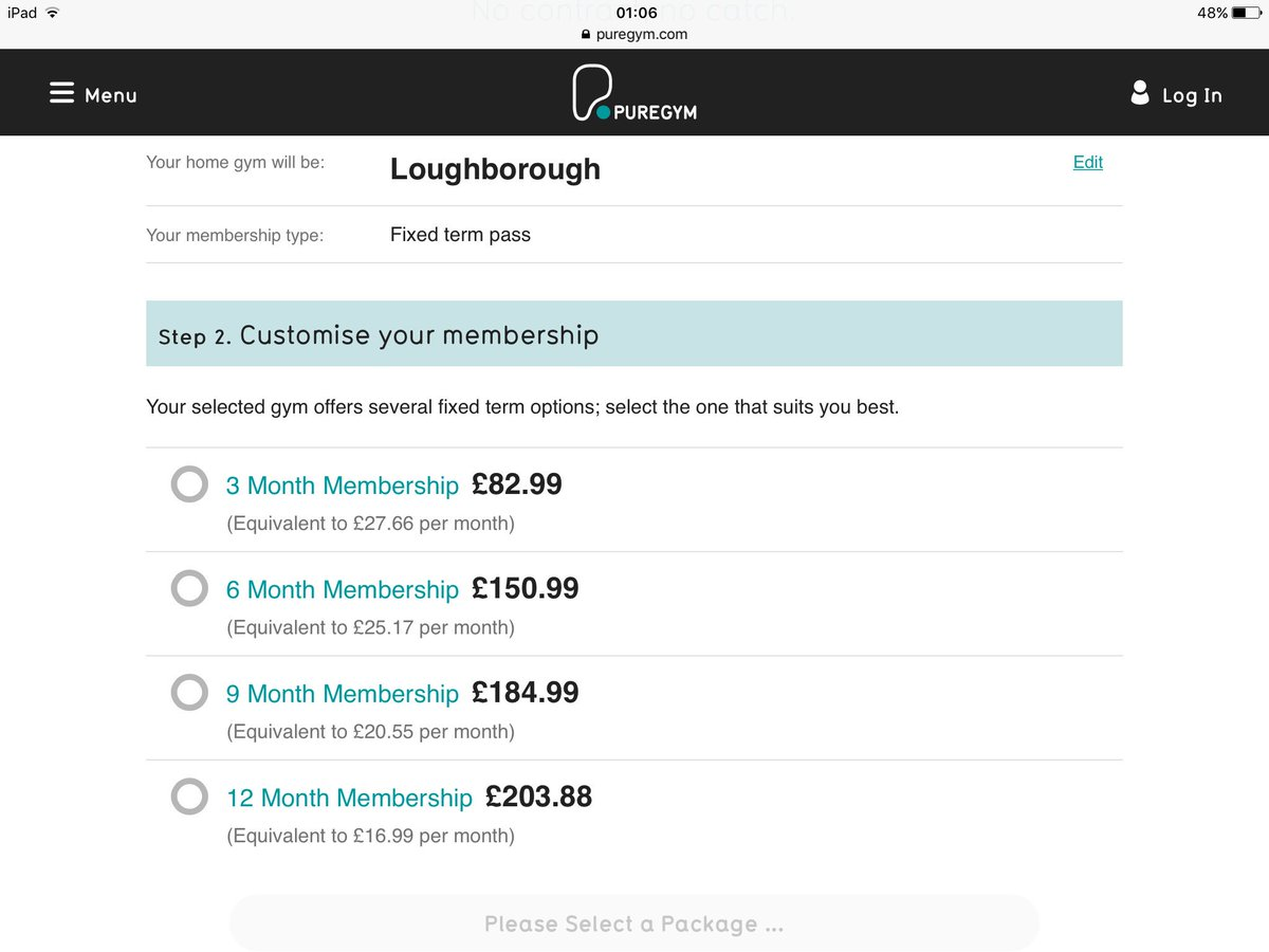 Pure gym offers for the lates discounts for your fitness