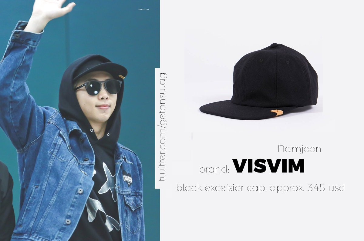 Black Excelsior Cap Visvim opNiMHT