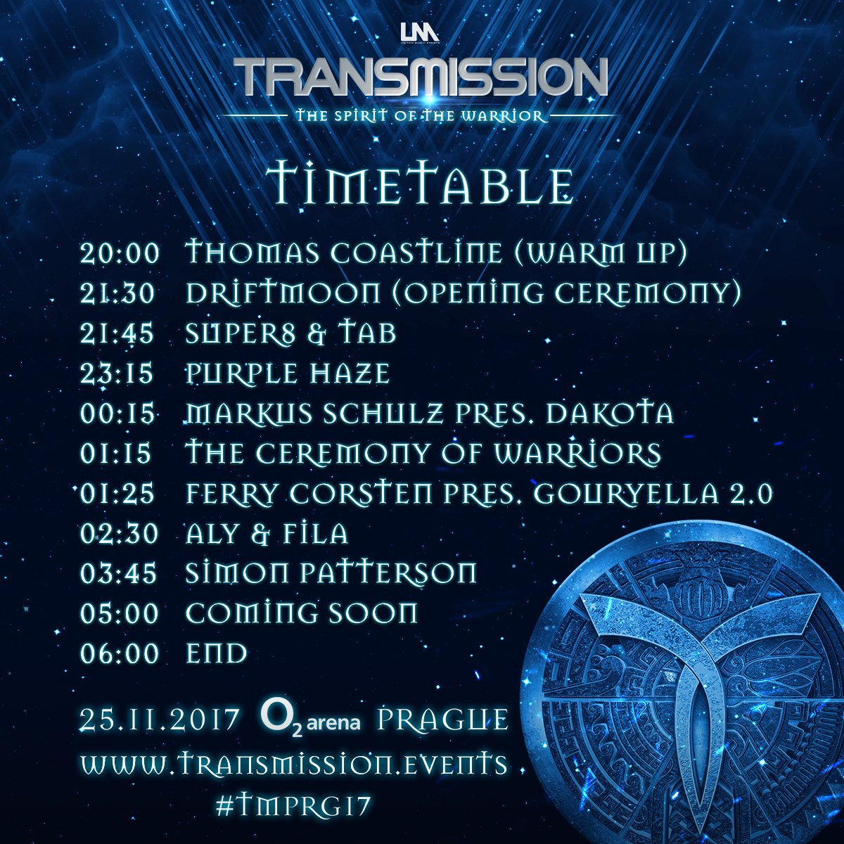 Transmission Festival On Twitter The Timetable And Last Info For Tmprg17 Is Now Available Https T Co Ierschasbj Enjoy The Transmission Weekend Trance Trancefamily Prague Https T Co L3h7xmw4z7