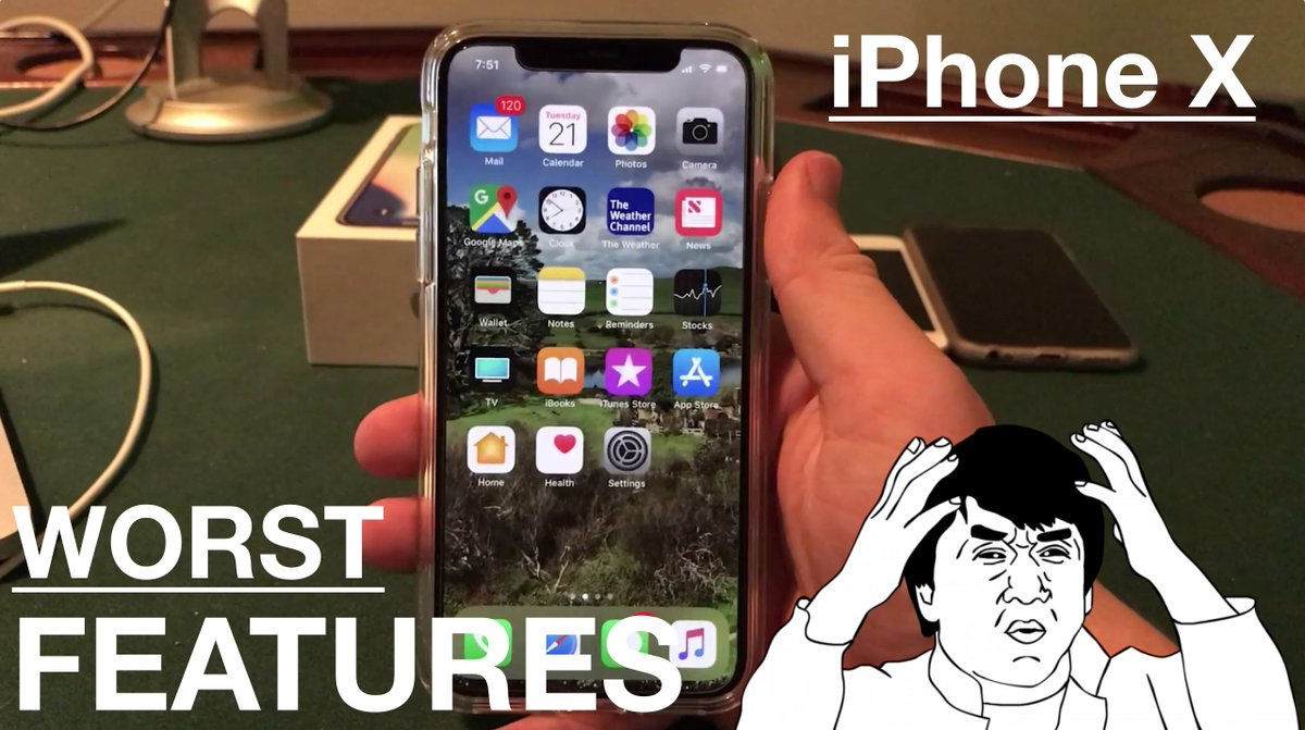 Here are some items that annoy me about the #iPhoneX....New video. iPhone X: Worst 5 Features that Need Fixing!  https:// youtu.be/XvZpNseOUeI  &nbsp;   #Apple #iPhone #ios<br>http://pic.twitter.com/px2QeRw892