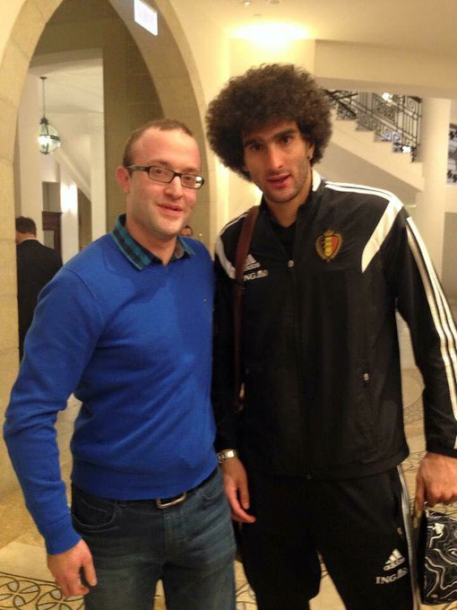 Happy birthday and all the best to the great Marouane Fellaini