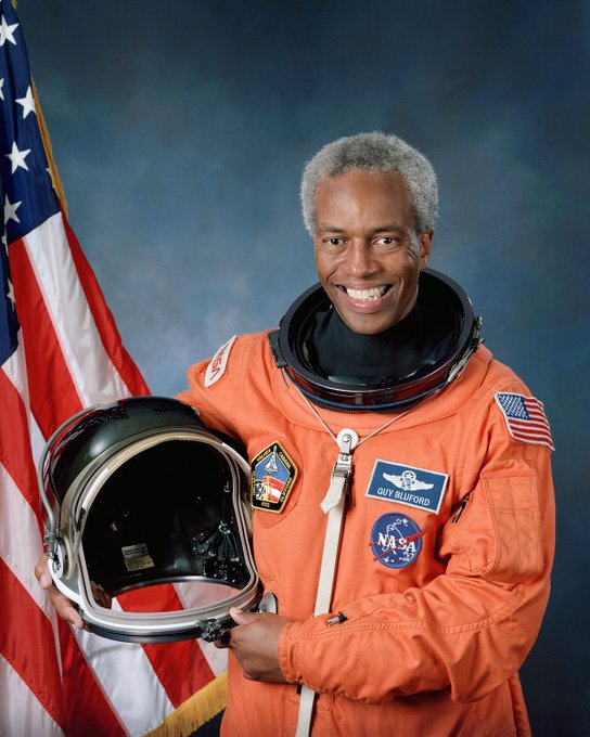 Happy 75th birthday to astronaut Guion Bluford, who was the first African-American in space!