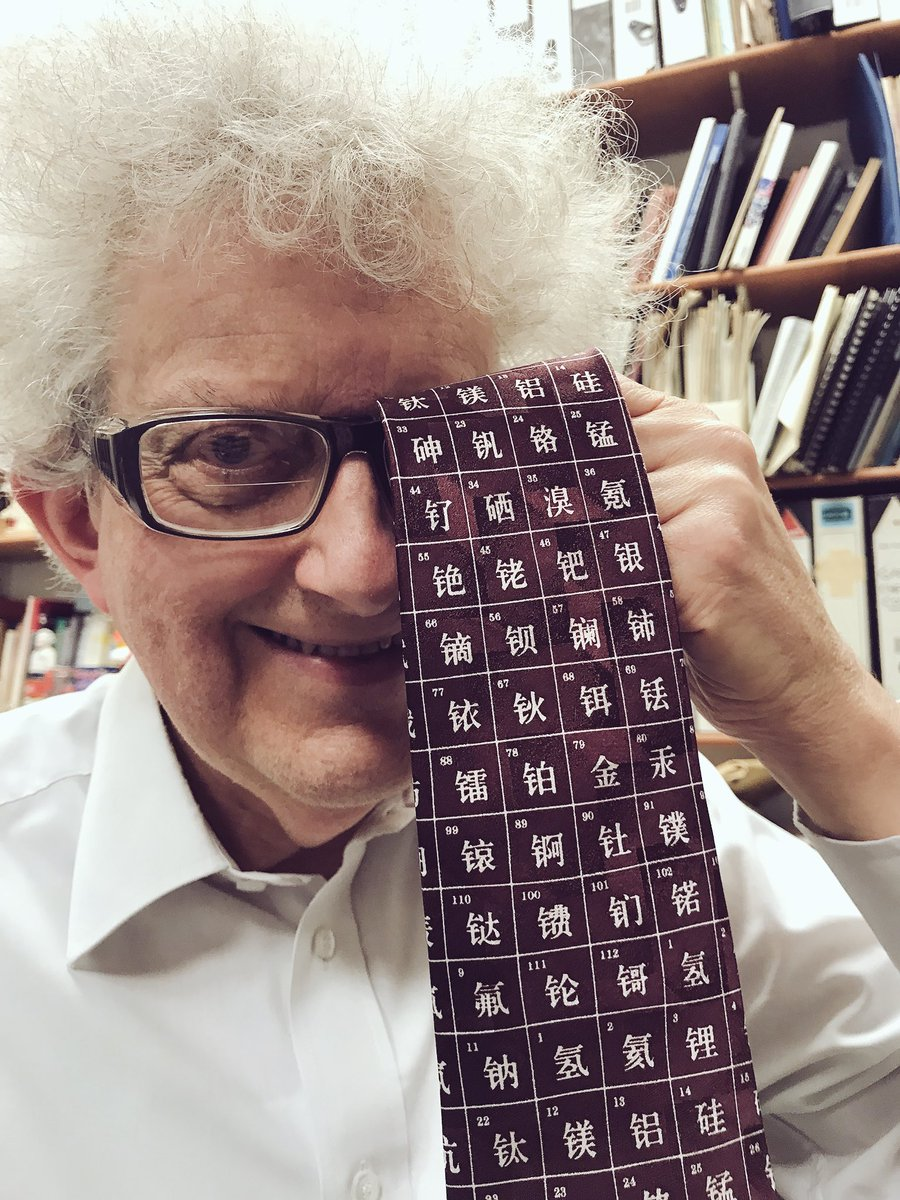 Periodic videos on twitter the prof showed off his latest periodic periodic videos on twitter the prof showed off his latest periodic table tie today urtaz Gallery