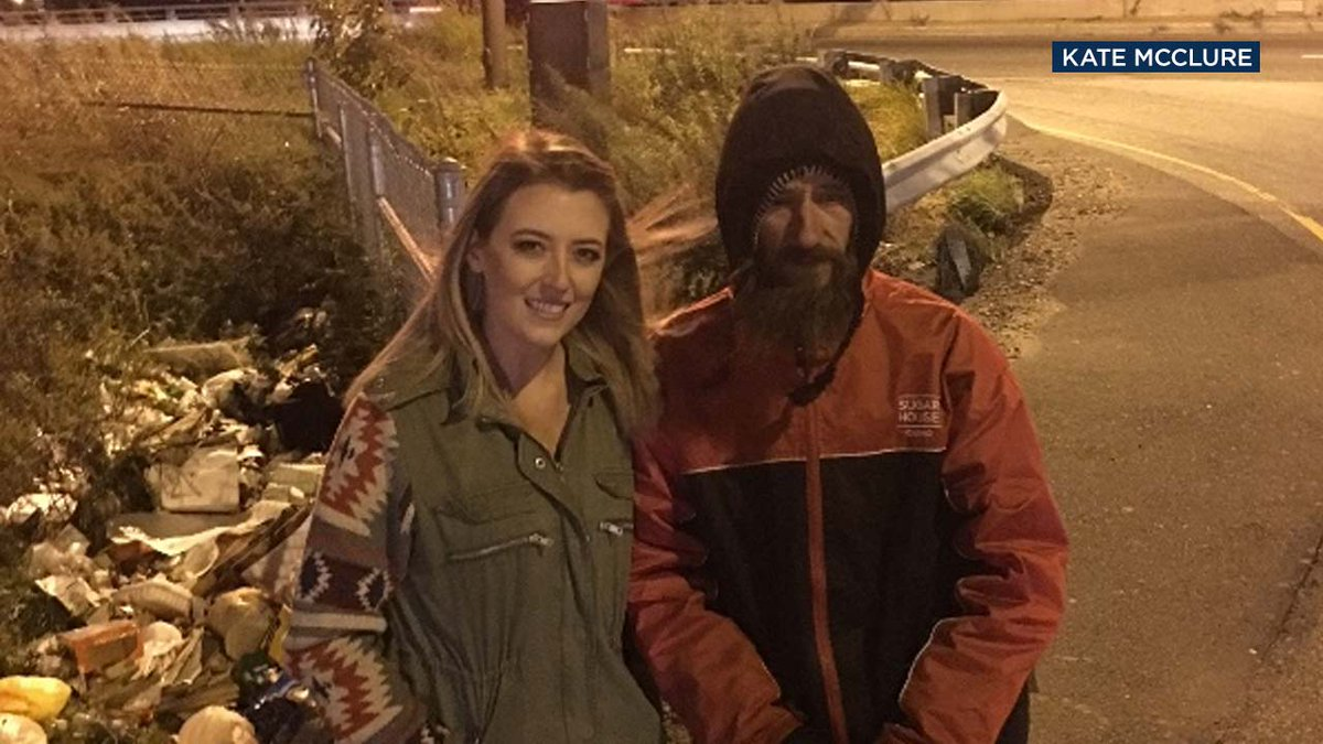 Woman raises $55K+ for homeless man who spent his last $20 to help her when her car ran out of gas https://t.co/btj4FHHlxp