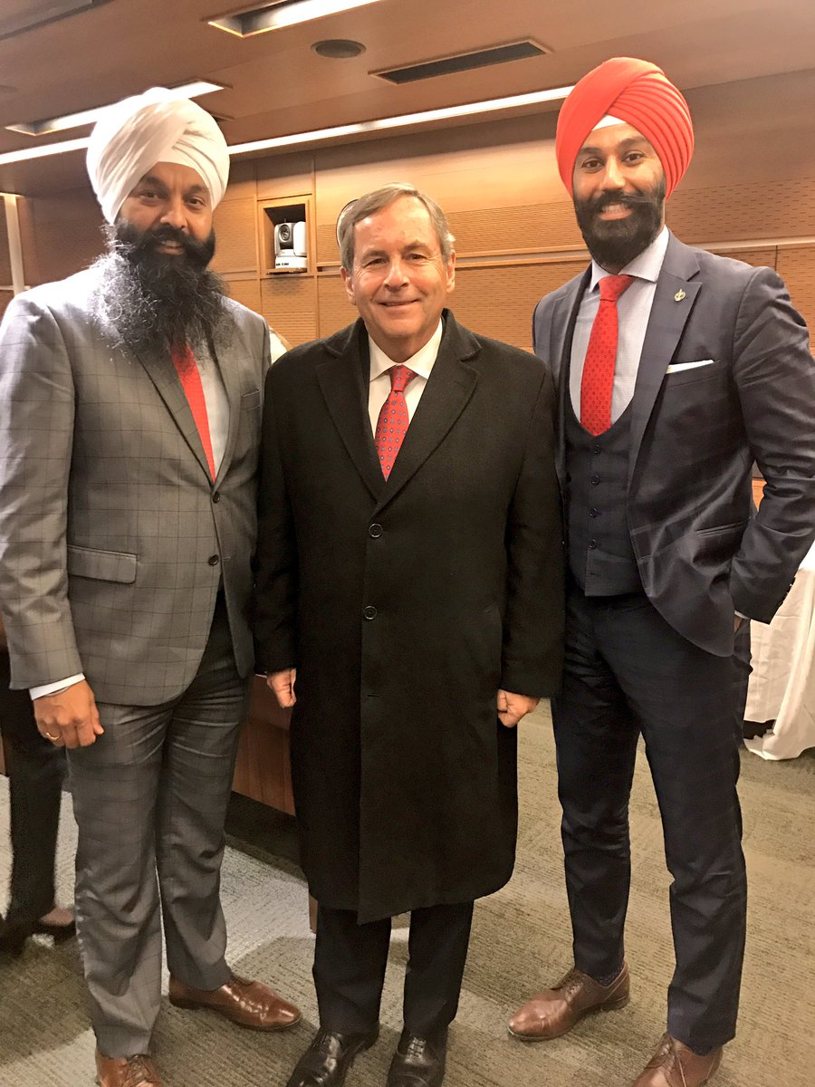 Speaking to @AmbMacNaughton about #CanadaUS relations with @randeepssarai , looking forward to our trip to Washington next week #cdnpoli #uspoli #NAFTA<br>http://pic.twitter.com/h7VBX9iuzE