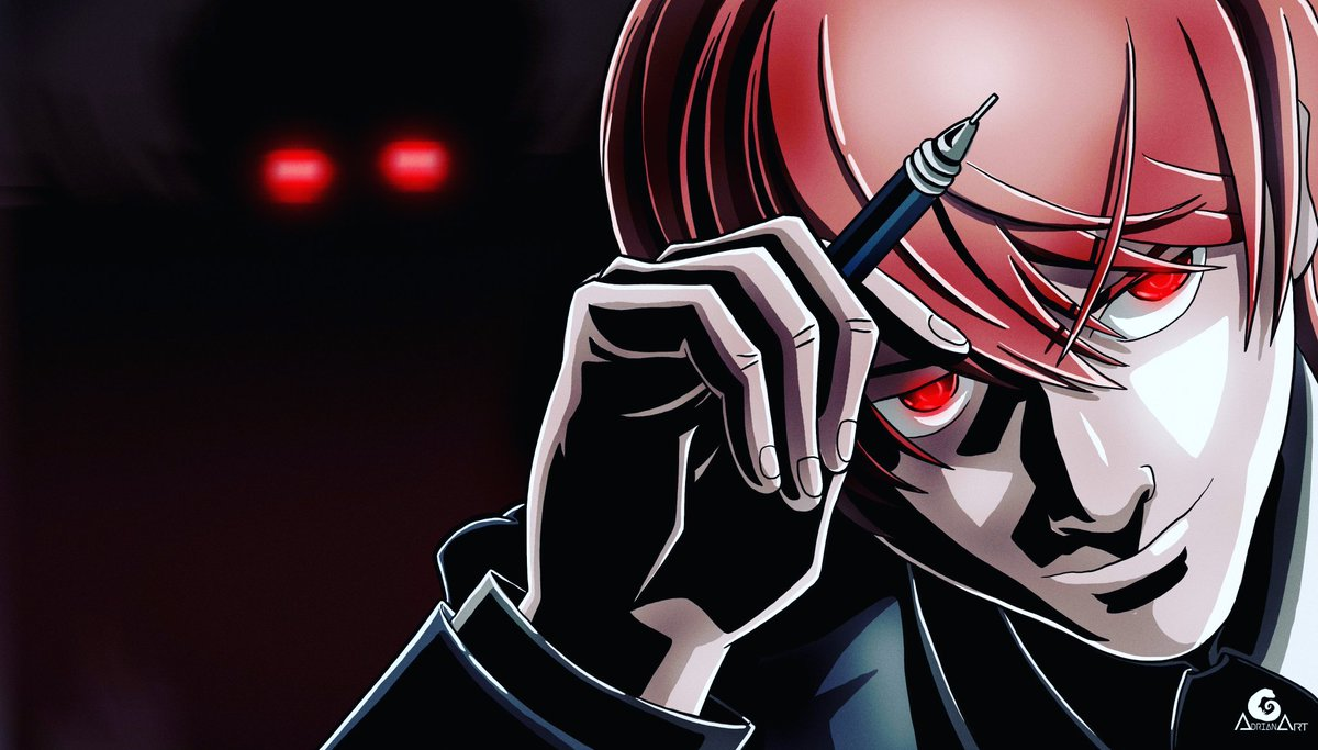 Adrian Art On Twitter Death Note Kira Light Yagami
