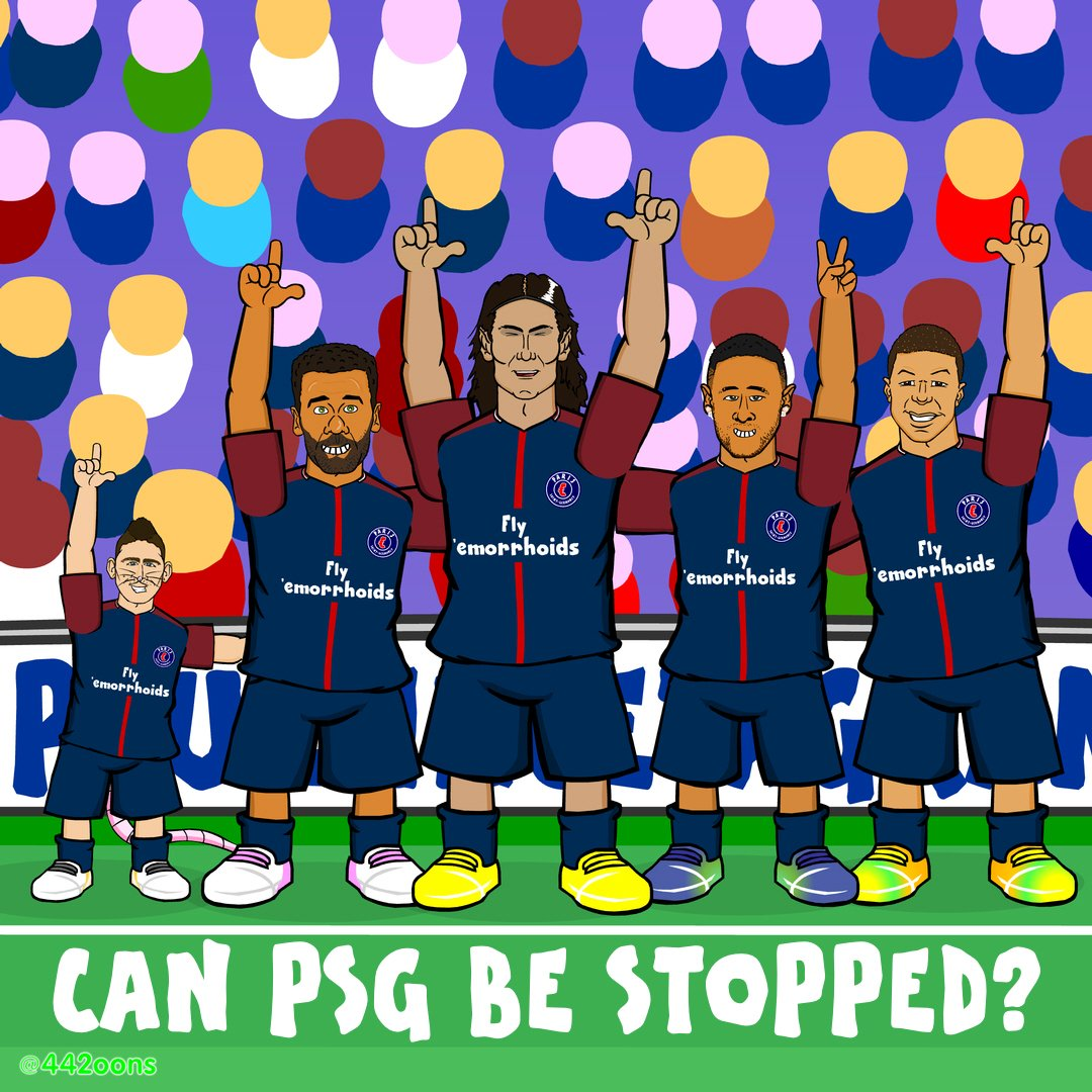442oons on twitter psg who can stop them